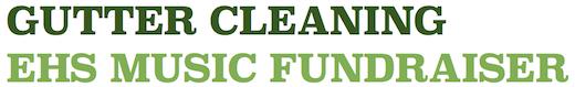 2015 Gutter Cleaning Fundraiser